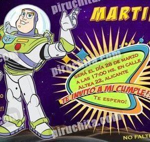 Invitación cumpleaños Toy Story #08-0