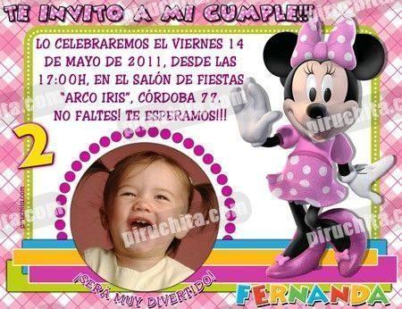 Invitación cumpleaños La Casa de Mickey #10-0