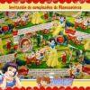 Invitación cumpleaños Blancanieves #09-1675