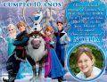 Invitación cumpleaños Frozen #11-0