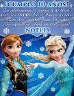 Invitación cumpleaños Frozen #12-0