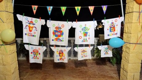 Recomendación: Camisetas personalizadas para cumpleaños