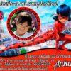 Invitación cumpleaños Ladybug / Prodigiosa #02 con Foto | Digital Imprimible
