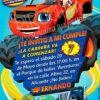 Invitación cumpleaños Blaze y los Monsters Machines #03 | Digital Imprimible