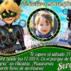 Invitación cumpleaños Ladybug / Cat Noir #05 con foto | Digital Imprimible