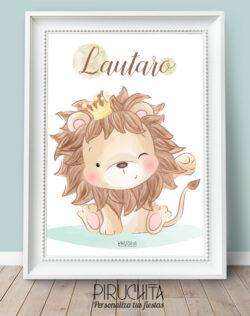 Piruchita Lamina Leon Nombre