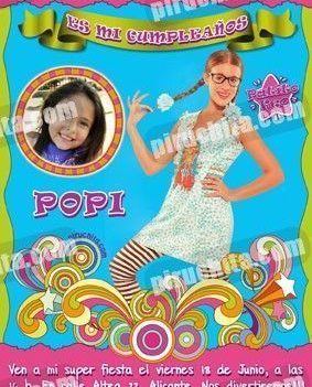 Invitación cumpleaños Patito Feo #08-0