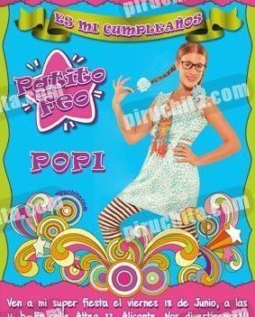 Invitación cumpleaños Patito Feo #09-0
