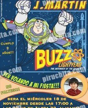 Invitación cumpleaños Toy Story #09-0