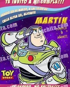 Invitación cumpleaños Toy Story #11-0