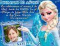 Invitación cumpleaños Frozen #02-0