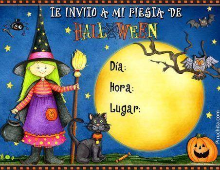 Invitación para fiesta de halloween 2016 gratis – 1